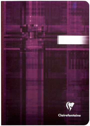 Notitieboek Exacompta Matris A4 lijn 192blz harde kaft-1