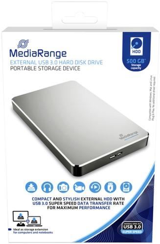 Harddisk 3.0 MediaRange externe HDD 500GB