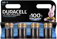 Batterij Duracell Ultra Power 8xAA alkaline