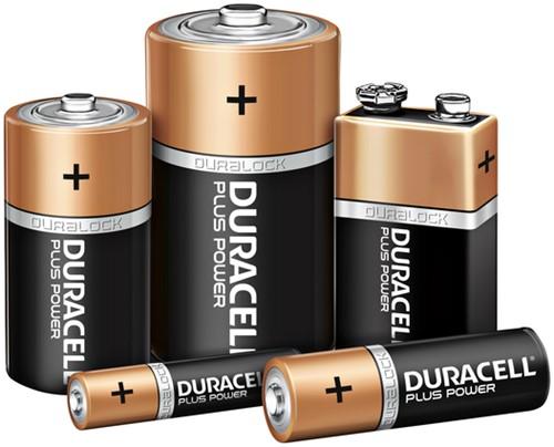 Batterij Duracell Plus Power 1x9Volt MN1604-3