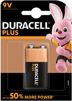 Batterij Duracell Plus Power 1x9Volt MN1604
