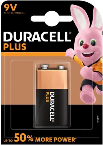 Batterij Duracell Plus Power 1x9Volt MN1604-2