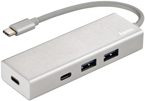 Hub Hama 3.1 USB-C naar USB-A 2x + USB-C 2x