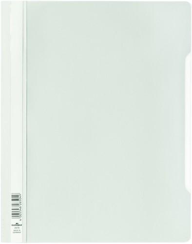 Snelhechter Durable 2570 A4 PVC wit