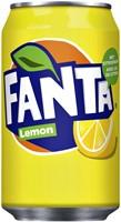 Frisdrank Fanta Lemon blikje 0.33l
