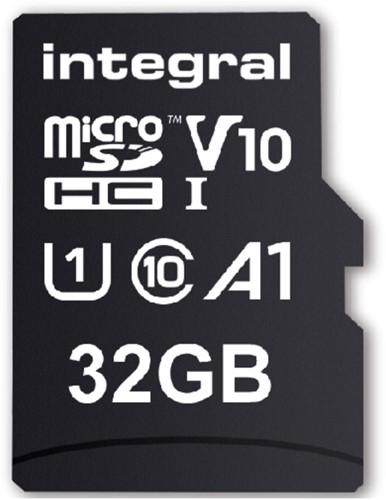 Geheugenkaart Integral microSDHC V10 32GB