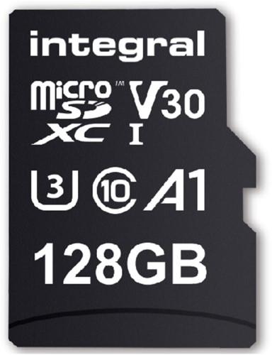Geheugenkaart Integral microSDXC V30 128GB