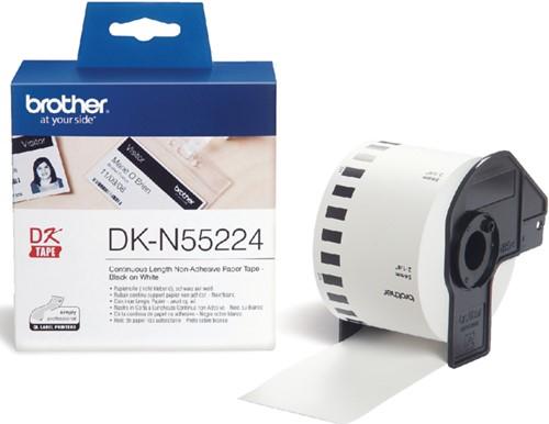 Etiket Brother DK-N55224 54mm 30-meter wit papier niet kleef