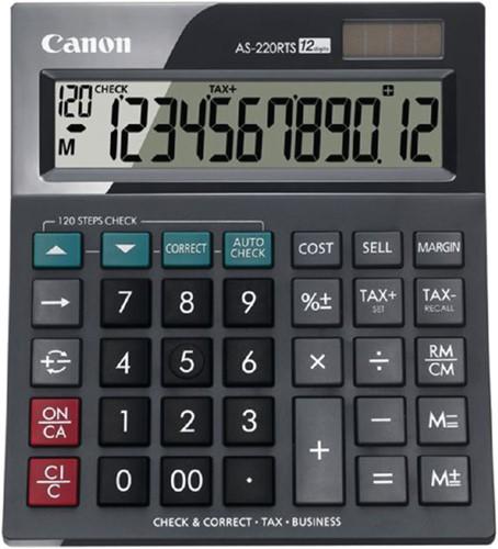 Rekenmachine Canon AS-220RTS