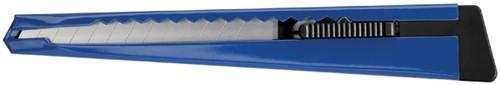 Snijmes Westcott Office 9mm met metalen houder blauw
