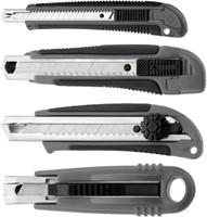 Snijmes Westcott Professional 9mm met schuifsluiting grijs-1