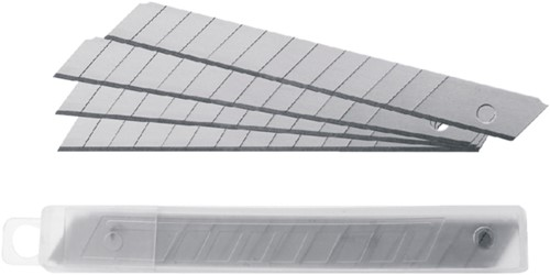 Snijmes Westcott Premium 9mm met metalen geleiding rood-3