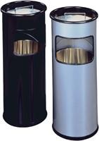 As-papierbak Durable 3330-23 rond zilver metallic-2