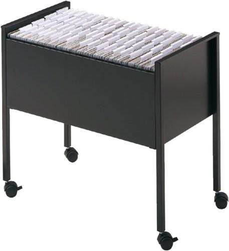 Hangmappentrolly Durable Economy 80 A4 zwart