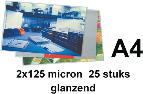 Lamineerhoes GBC A4 2x125micron 25stuks
