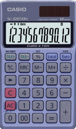 Rekenmachine Casio SL-320TER