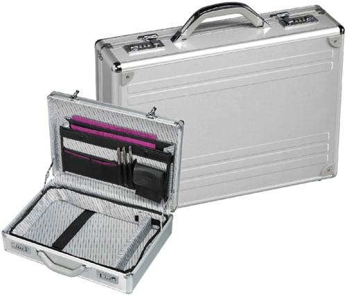 Attachekoffer Rillstab Maxi aluminium