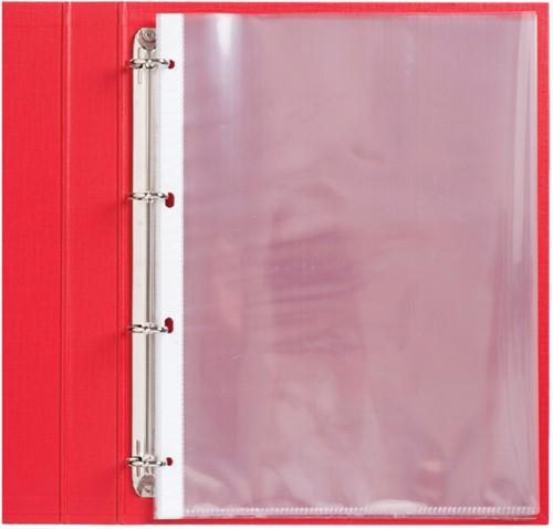 Showtas Quantore A4 4-gaats PP 0.11mm glad 100 stuks