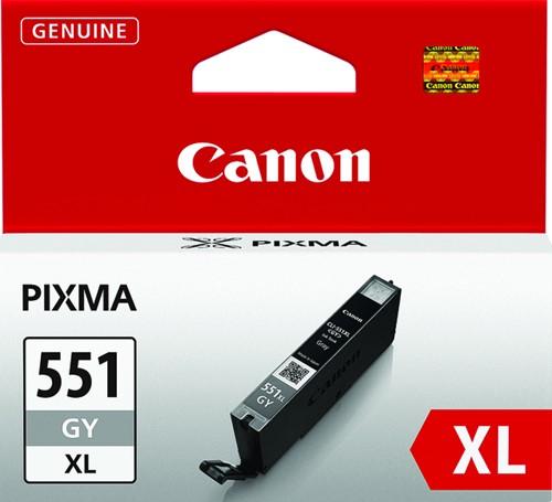 Inktcartridge Canon CLI-551XL grijs HC