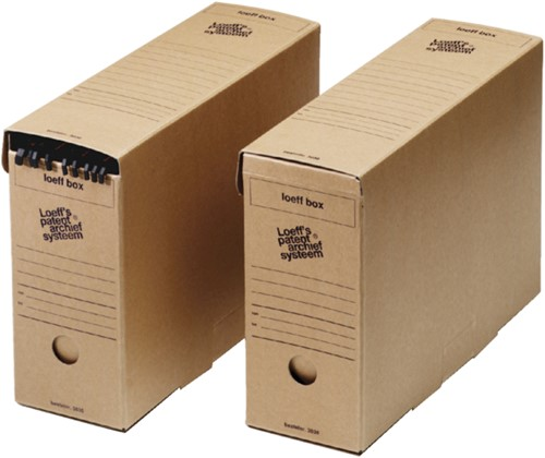 Archiefdoos Loeff 3030 370x260x115mm-2