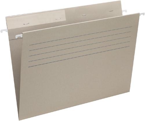 Hangmap Moberta folio venster links met hechting grijs