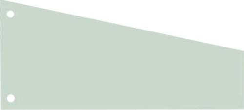 Scheidingsstrook Elba trapezium  240x105/55mm 190gr groen