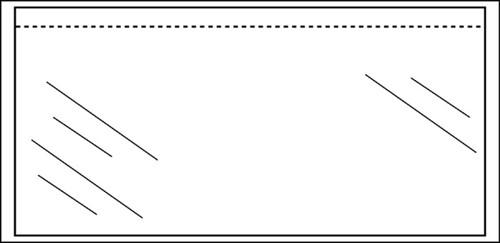 Paklijstenvelop CleverPack zelfklevend blanco 230x110mm 100st