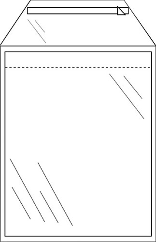 Envelop CleverPack akte C5 165x220mm zelfkl. transp. 50stuks