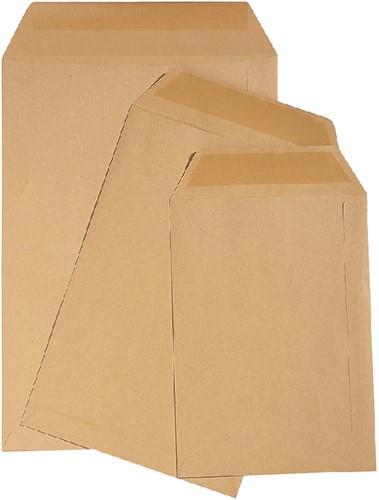 Envelop Quantore loonzak 85x125 70gr bruin 1000stuks
