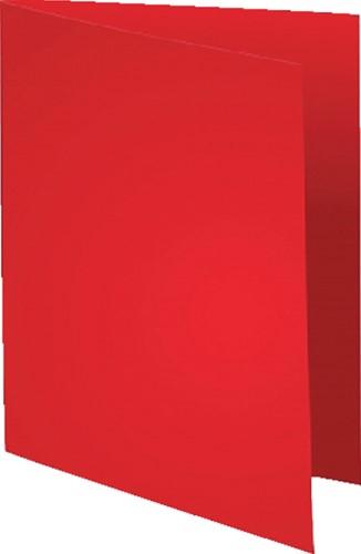 Vouwmap Exacompta Super A4 80gr rood