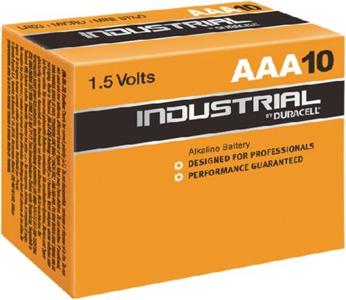 Batterij Industrial AAA alkaline doos à 10 stuks-2
