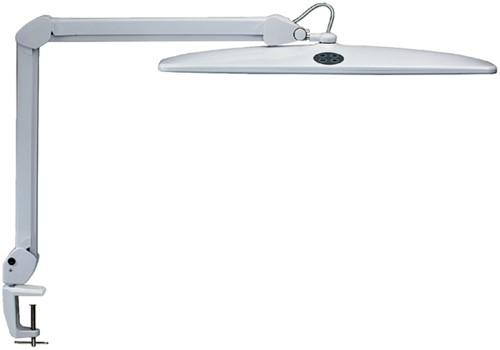 Werkpleklamp MAUL Work LED tafelklem dimbaar wit