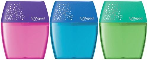 Puntenslijper Maped Shaker 2-gaats assorti