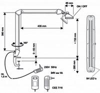 Bureaulamp Maulwork ledlamp dimbaar wit-2