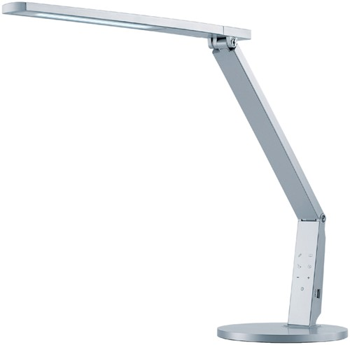 Bureaulamp Hansa led Vario Plus zilvergrijs-3