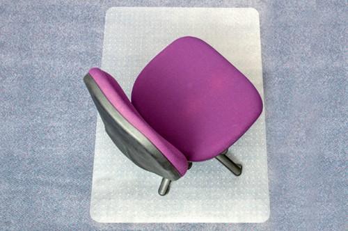 Stoelmat Floortex PVC 120x150cm voor zachte vloeren-2