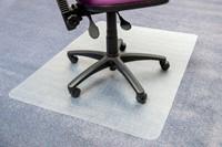 Stoelmat Floortex PVC 120x150cm voor zachte vloeren-3