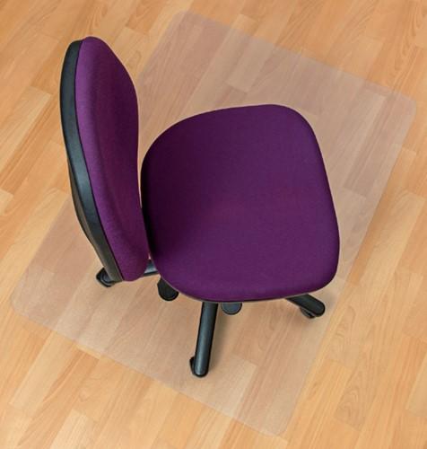 Stoelmat Floortex PVC 120x90cm voor harde vloeren retailpak-3