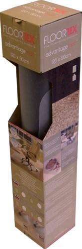 Stoelmat Floortex PVC 120x90cm voor harde vloeren retailpak-1