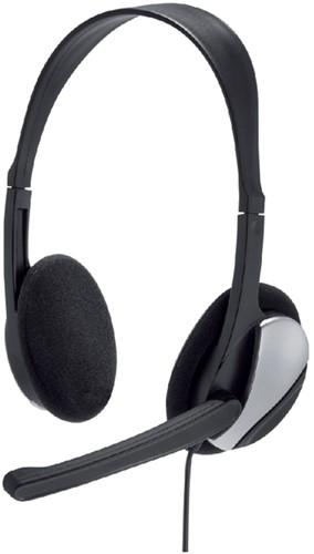 Hoofdtelefoon Hama HS-P100 On Ear zwart