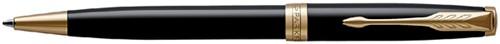 Balpen Parker Sonnet black lacquer GT M