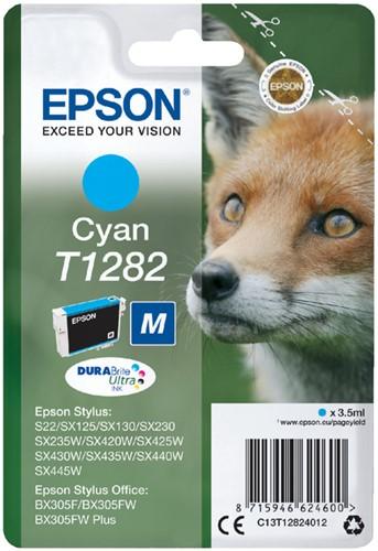 Inktcartridge Epson T1282 blauw