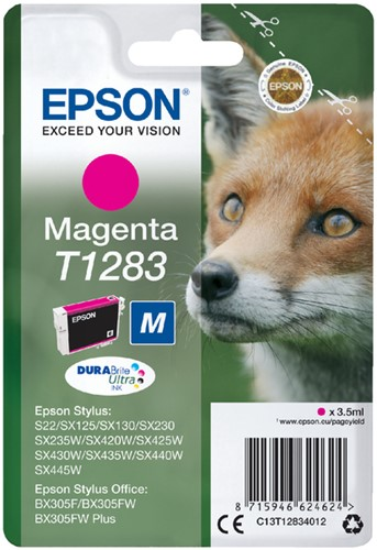 Inktcartridge Epson T1283 rood