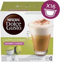 Koffie Dolce Gusto Cappuccino Light 16 cups voor 8 kopjes
