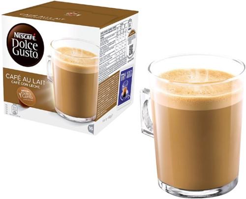 Koffie Dolce Gusto Cafe au Lait 16 cups-2