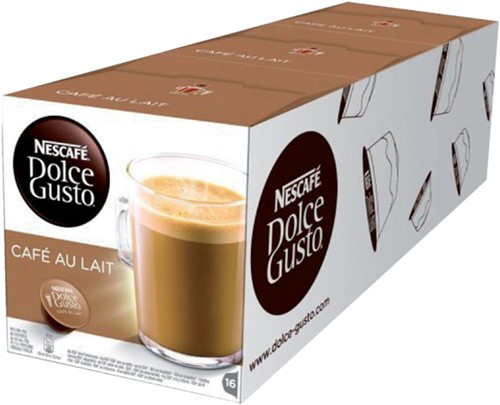 Koffie Dolce Gusto Cafe au Lait 16 cups-3
