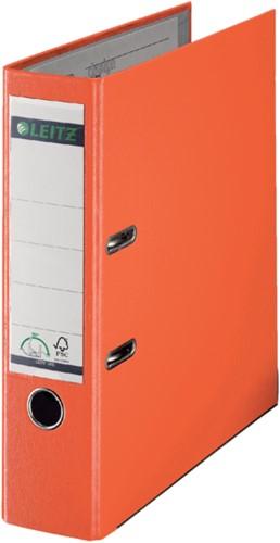 Ordner Leitz A4 80mm PP oranje