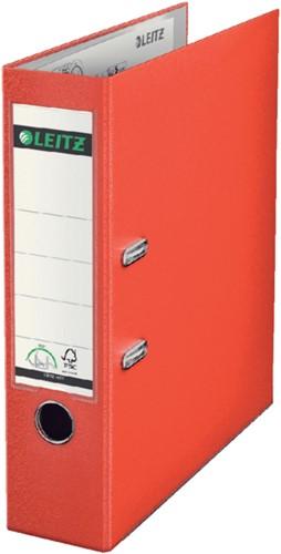 Ordner Leitz A4 80mm PP lichtrood