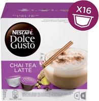 Thee Dolce Gusto Chai Tea latte 16 cups voor 8 kopjes