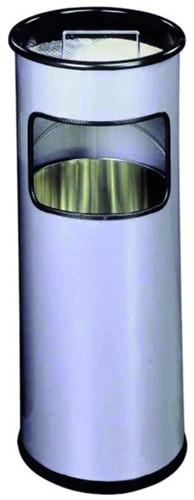 As-papierbak Durable 3330-23 rond zilver metallic